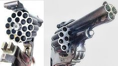 This Italian triple-barrel revolver is a challenger for most unusual handgun we've seen.