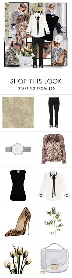 """""""Spring leopard chic"""" by krystalkm-7 ❤ liked on Polyvore featuring Élitis, 3x1, Boohoo, Velvet by Graham & Spencer, Marc Jacobs, Pier 1 Imports, Loeffler Randall and Carolee"""