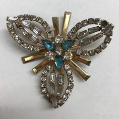New in the shop. Gorgeous vintage Phyllis brooch. 1/20 12K GF