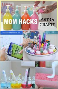 12 Arte e Artesanato Hacks você desejará que você tinha pensado