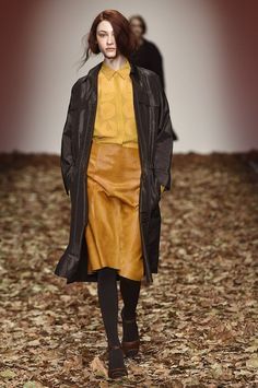 Jasper Conran Autumn / Winter 2015, na #London Fashion Week.