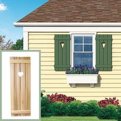 This Old House Window Boxes - Bing images Window Shutters, Window Boxes, Little Houses, Old Houses, Curb Appeal, Home Remodeling, Shed, New Homes, Cottage