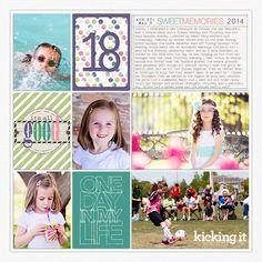 Project Life 2014: Week 18 - Digital Scrapbooking Ideas - DesignerDigitals