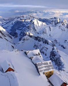 Säntis in Appenzell Alps, Switzerland | by Tinu79