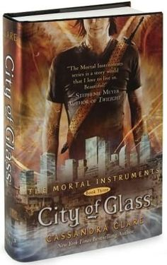 City of Glass (The Mortal Instruments Series #3).  The books gets better and better