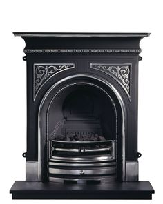 Celtic Cast Iron Fireplace (Highlighted)