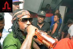 Wale is definitely enjoying Lagos  See more photos   Raving night spotNitro Night Clubhas redefined night life in Lagos the night club first opened its doors late last year and it has delivered top class services that have attracted socialites and the biggest partiers in Lagos and beyond. Friday nights are usually sold out as table reservations are usually overbooked days before.  Located in Victoria Island Nitro has been able to attract the biggest spenders across Lagos as they feel it…
