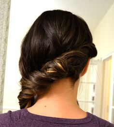 A Twisted Fishtail Side Braid By The Gals At Styles On B
