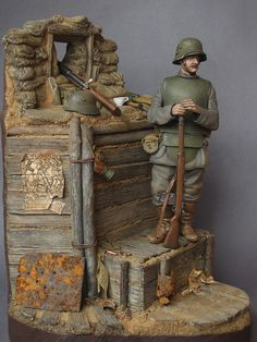 Figures: All Quiet at the Western Front. The Sentry, photo #2