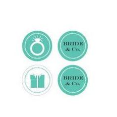 Give even the smallest details of your bridal shower or engagement party a touch of timeless elegance with these Bride & Co Decorative Mini Stickers. These small round stickers are the ideal size to d