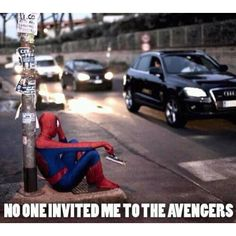 Poor spidey... and no one liked his movies the first time. He's having a bad few years