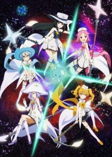 Houkago no Pleiades ONA----Subaru is a young girl who discovers that her best friend Aoi is part of magical group trying to gather engine fragments so that a little being from Pleiades can return to his home. Subaru considers joining them as she was chosen by the Pleiadian, president of this afterschool club.