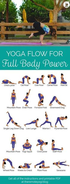 There are a lot of yoga poses and you might wonder if some are still exercised and applied. Yoga poses function and perform differently. Each pose is designed to develop one's flexibility and strength. Yoga Fitness, Fitness Workouts, Workout Hiit, Full Body Yoga Workout, Arm Workouts, Workout Schedule, Mens Fitness, Health Fitness, Yoga Routine