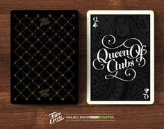 A Beautiful Deck Of Typographic Playing Cards For Design Lovers - DesignTAXI.com