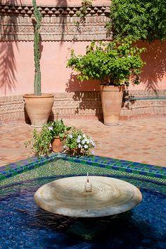 Jardins de Majorelle, Majorelle Garden (حديقة ماجوريل), Marrakech, Maroc (Morocco) by Loïc BROHARD, via Flickr