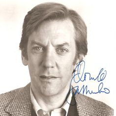 Donald sutherland donald o connor and entertainment on pinterest