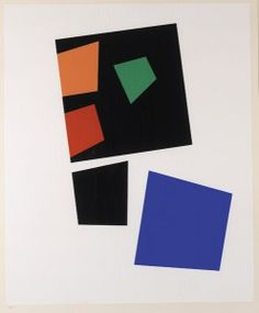 JEAN (HANS) ARP (FRENCH, 1886–1966) CONSTELLATION FROM THE ALBUM JEAN ARP, 1959 color serigraph after an original gouache from 1932, 23/125 image area: 18 x 13 1/2 inches (45.72 x 34.29 cm)