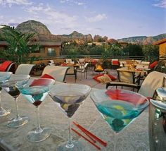 Sedona Rouge Hotel & Spa- amazing rooftop patio, spa, and pretty Moroccan decor. Plus they have morning yoga & its pet friendly! My pick for corp event and personal vacations after many hotel site visits.