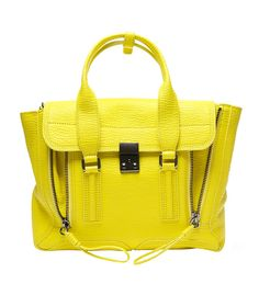 Beat the Sunday night blues with this cheery yellow 3.1 Phillip Lim satchel! #ShopBAZAAR