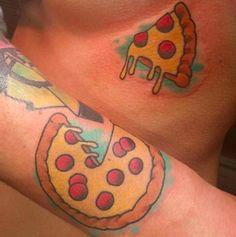 This pizza pair.