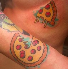 """This pizza pair. 