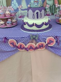 """Photo 1 of 19: Sofia the First / Birthday """"Alana's 1st Birthday at Just 2 Party Playhouse"""" 