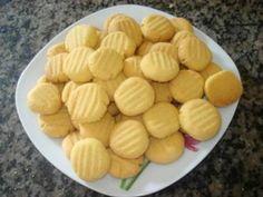 Receita de Biscoitos de fubá super fáceis - Tudo Gostoso