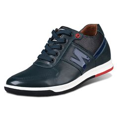 Special Price $109 - Green Men Casual Shoes extra height 6cm / 2.36inch