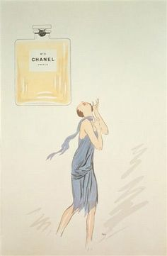 1920s Chanel No.5 Advert - released in 1921
