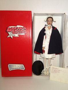 "Effanbee Brenda Starr Undercover Nurse Doll ""Bedside Brenda""."