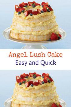 Angel Lush Cake (Quick & Easy)
