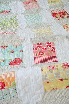 spool quilt by croskelley, via Flickr