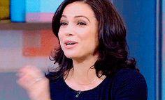 Lana Parrilla on Good Morning America