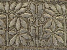 Фрагмент вышивки повойника
