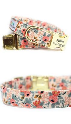 Floral Dog Collar Tap the pin for the most adorable pawtastic fur baby apparel! Youll love the dog clothes and cat clothes! Floral Dog Collar Tap the pin for the most adorable pawtastic fur baby apparel! Youll love the dog clothes and cat clothes!