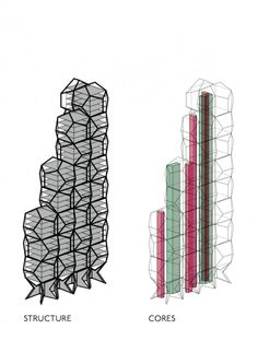 Image 14 of 14 from gallery of Tammo Prinz Architects Propose Platonian Tower in Lima. Photograph by Tammo Prinz Architects Building Code, Building Structure, Deconstructivism, Modern Buildings, Lima, Proposal, Diagram, Architecture, Gallery