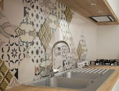 Fantastiche immagini su cementine cucina cement tiles for kitchen
