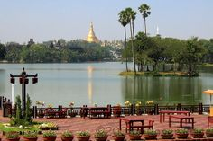 The Shwedagon Pagoda: Yangon, Mayanmar (Rangoon, Burma)