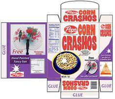 Printable Cereal Boxes | Small Stuff's PrintMini: Printable Dollhouse Miniatures & Printies