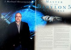 Profile of J. Michael Straczynski, creator of Babylon 5. Pro Bono, Packaging Company, Babylon 5, Usa Today, Nonfiction Books, Writer, Profile, User Profile, Writers