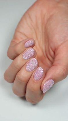 By @hannahroxit Gel Nail Tips, Gel Nails, French Manicure Designs, Nail Designs, Sugar Nails, Detailed Paintings, White Polish, Pink Sugar, Glitter Nail Art