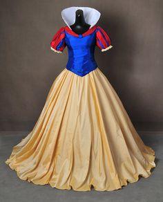 Blanca Nieves y lo siete enanitos bola vestido vestido Cosplay Costume