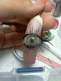 This is super freaky. Who would want this on their finger?!?!