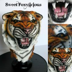 Suma the Roaring Tiger by Sweet Foxylicious