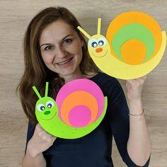 Animal Crafts For Kids, Paper Crafts For Kids, Art For Kids, Diy And Crafts, Kindergarten Crafts, Preschool Crafts, Summer Crafts, Fall Crafts, Shark Week Crafts