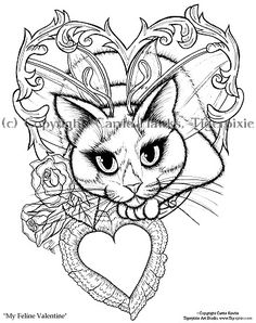 1000 images about art on pinterest fairy coloring pages Gothic coloring books for adults