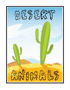 Free Desert Animals Unit Study Lessons and Lapbook Printables