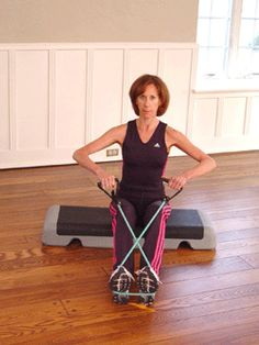 Today's Exercise: Low Mount Seated Rows with Band