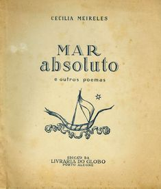 Mar Absoluto - Cecília Meireles