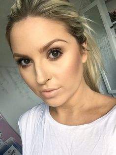 Glowing Dewy Skin ♡ Minimal But Flawless Makeup Look! Love Makeup, Simple Makeup, Beauty Makeup, Makeup Looks, Hair Beauty, Beauty Dupes, Bridal Makeup, Wedding Makeup, Ball Makeup